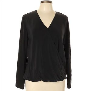 Cos Long Sleeve Silk Blouse